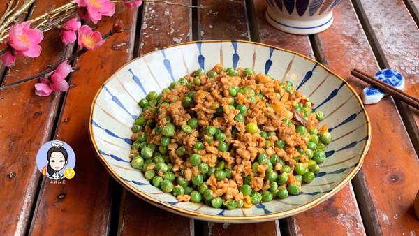 豌豆肉末(家常菜)