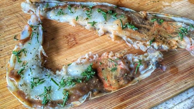 迷迭香芝士香烤大虾的做法