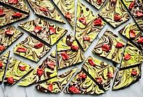#太太乐鲜鸡汁玩转健康快手菜#   零失败草莓双色巧克力的做法