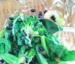 有什么拌什么的蔬菜沙拉~的做法