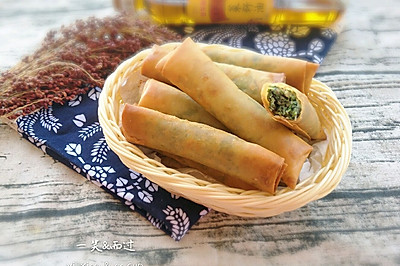 炸春卷(超级详细)#金龙鱼外婆香小榨菜籽油 我要上春碗#