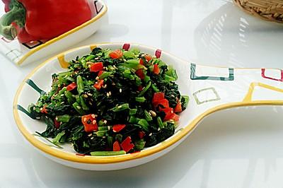 涼拌小青菜