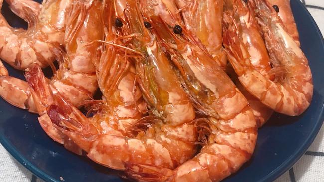 #晒出你的团圆大餐#盐焗虾的做法