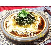 夏天的餐桌-皮蛋拌豆腐