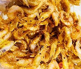 #快手菜#炸河虾的做法