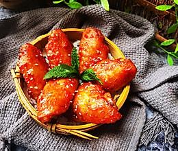 """#""""莓""""好春光日志#创意爆棚~~蔓越莓酱烤奥尔良鸡翅的做法"""