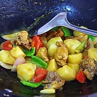营养快手菜--咖喱鸡肉饭的做法图解7