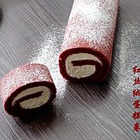 一见倾心——红丝绒蛋糕卷的做法图解21