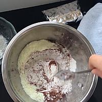 巧克力奶酥饼的做法图解4