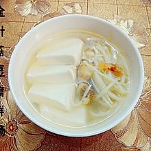 金针菇豆腐鲜汤