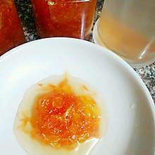 冰糖柠檬苹果柚子茶