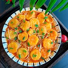 日本豆腐番茄金针菇