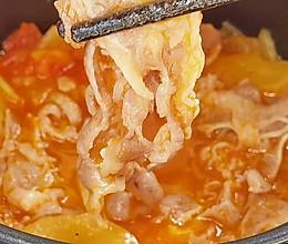 冬季减脂增肌就吃【番茄土豆肥牛】#牛气冲天#的做法