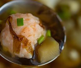 #硬核菜谱制作人#虾滑紫菜汤的做法