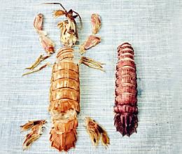 虾爬子这样剥壳的做法