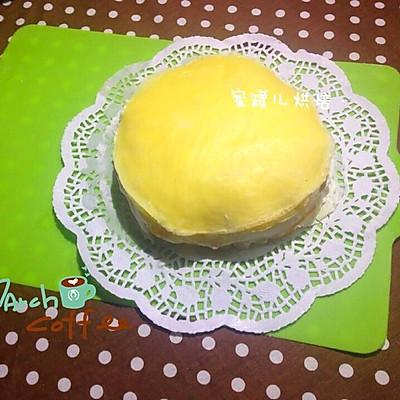 芒果蛋糕/榴莲蛋糕/榴芒蛋糕(新手必看超详细步骤)