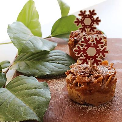 核美味相会--焦糖核桃杏仁酥饼