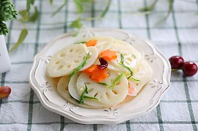 节后解腻爽口凉菜——酸甜炝拌莲藕