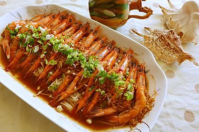 蒜蓉开边虾