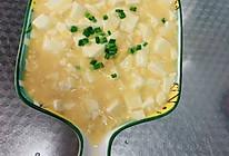 #以美食的名义说爱她#蟹黄豆腐的做法