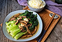 冬菇浸白菜芯的做法