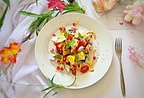 减肥必备—蔬菜鸡胸肉沙拉的做法