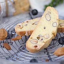 #全电厨王料理挑战赛热力开战!#意式手工坚果脆饼