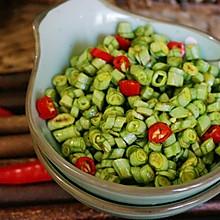 #春季食材大比拼#凉拌豇豆