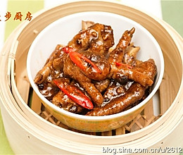 【曼步厨房】粤式早茶点心 - 豉汁蒸凤爪的做法