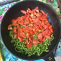 西红柿拌面的做法图解4