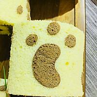 萌萌的小脚丫蛋糕卷的做法图解12