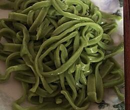 蔬菜面条手擀面条的做法
