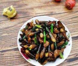 滋味鲜美家常菜——鸡枞菌炒肉的做法