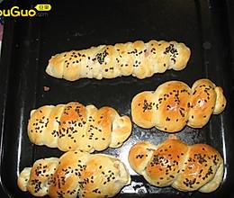 热狗面包卷的做法