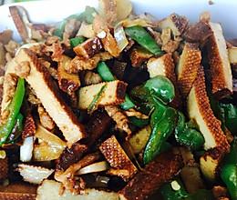 螺丝椒豆干肉丝的做法