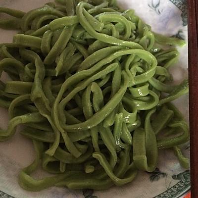 蔬菜面条手擀面条