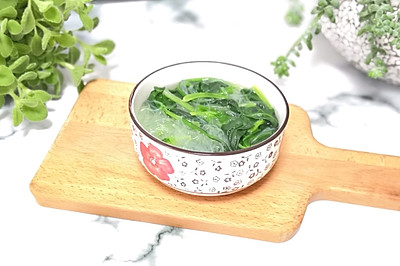 粉丝菠菜汤