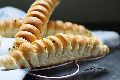 肉松毛毛虫面包