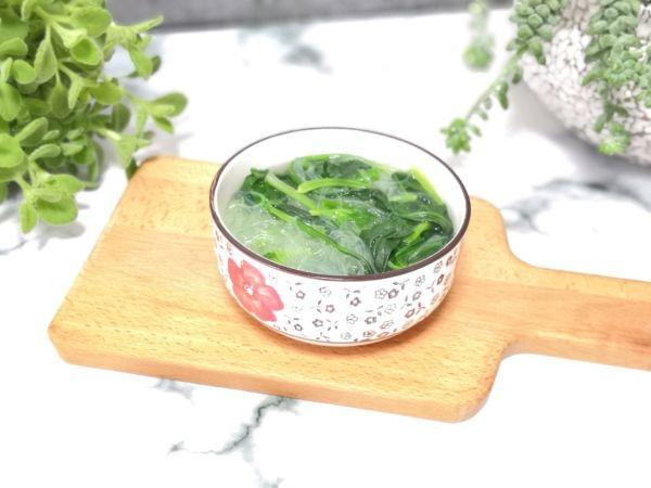 粉丝菠菜汤的做法