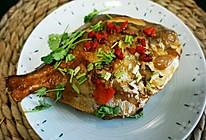 菁选酱油试用之红烧平鱼的做法