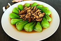 香菇油菜心的做法