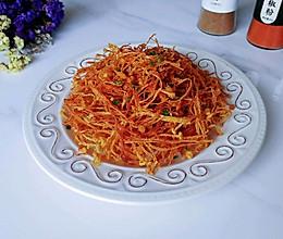 椒盐玉面金针菇的做法