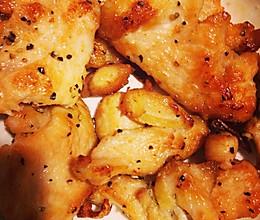 黑椒鸡胸肉的做法