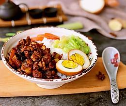 #今天吃什么# 卤肉饭的做法