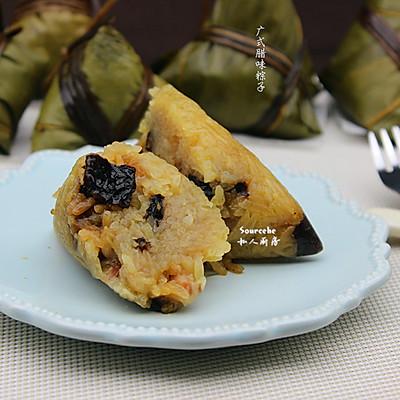 香菇腊味粽子