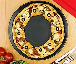 自制鲜蔬披萨的做法