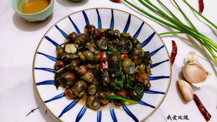 佛山——中秋必吃的炒螺