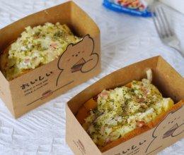 #一起土豆沙拉吧#低卡土豆沙拉三明治的做法