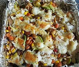 浓香鸡肉蔬菜焗饭(留学生必学)的做法