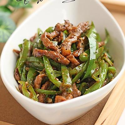 杭椒黑椒汁烩牛柳